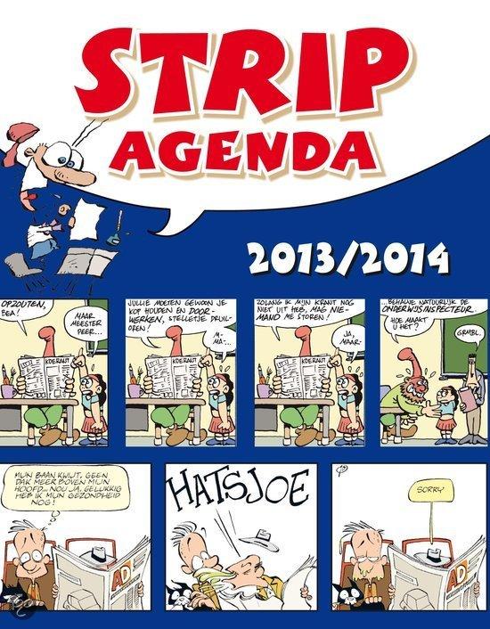 Stripagenda / Schoolagenda 2013- 2014