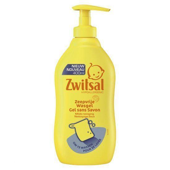 Zwitsal - Zeepvrije Wasgel - 400 ml