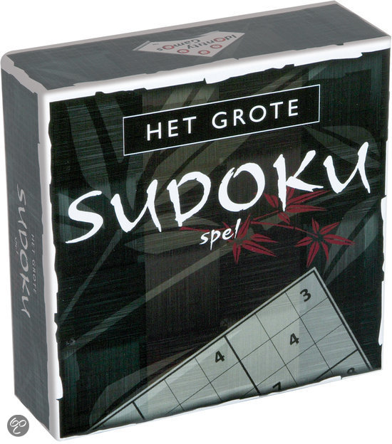 Afbeelding van het spel Het Grote Sudoku Spel
