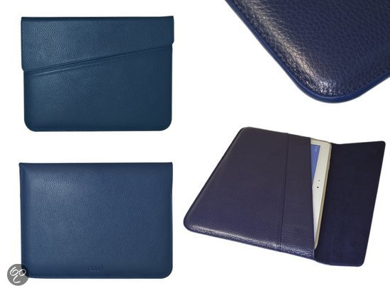 Azuri DeLuxe Business Sleeve voor Vodafone Smart Tab 10, navy , merk i12Cover in Oud-Lutten