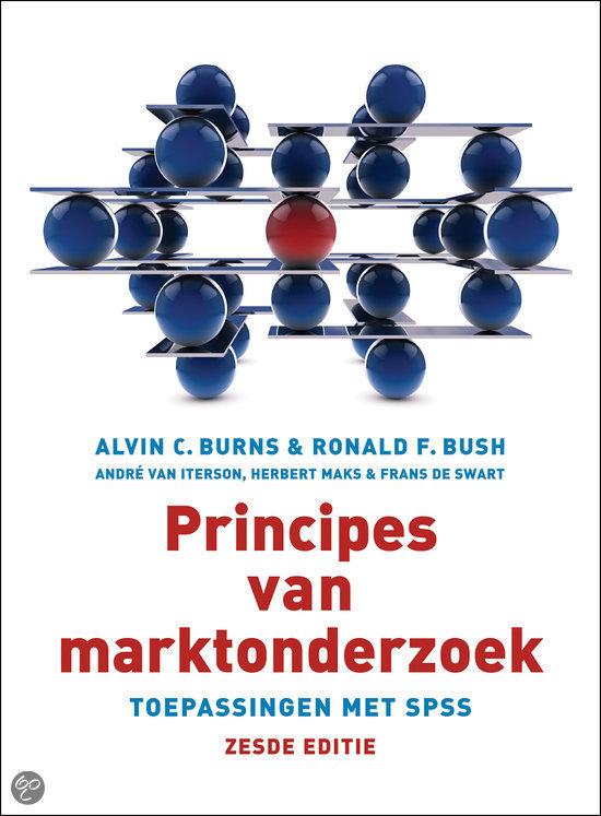 Principes van marktonderzoek