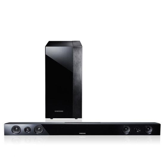 Samsung HW E450 - Soundbar met draadloze subwoofer - Zwart