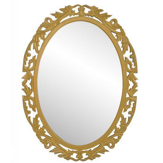 Vidaxl spiegel spiegel barok ovaal goud for Barok spiegel