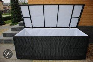 Arbrini opbergbox zwart for Lounge kussens