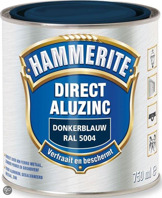 bol.com | Hammerite Direct Over Aluzinc Donkerblauw