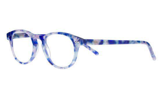 Icon Eyewear KCE802 Goldline Leesbril +1.00 - Blauw gemêleerd - Acetaat