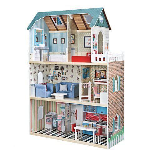 Imaginarium amanda maison groot houten for Groot poppenhuis