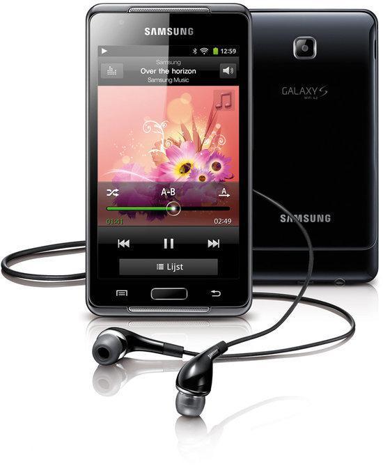 Samsung Galaxy S WiFi 4.2 - MP4 speler - Zwart