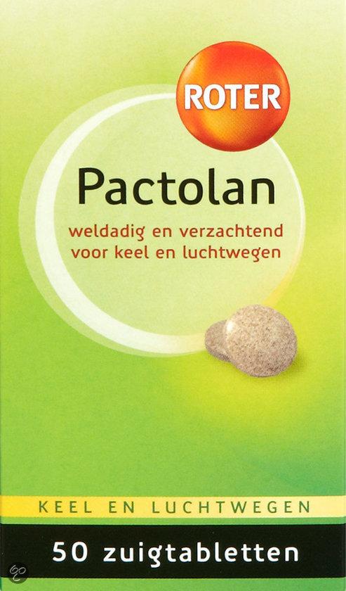 Roter Pactolan - Keeltabletten - 50 tabletten