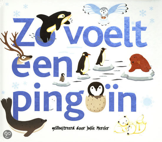 Zo voelt een pinguin
