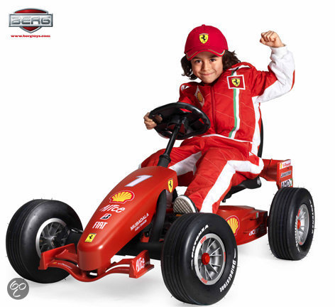 Bolcom BERG Skelter Junior Buddy Ferrari F1 Pedal