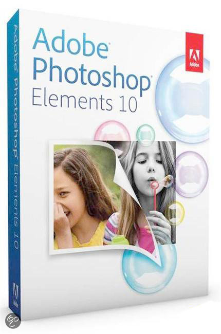Adobe Photoshop Elements 10 - Nederlands / WIN / 1 licentie
