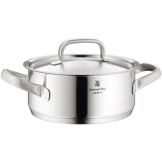 WMF Gourmet Plus Kookpan - Laag - Mat RVS - Ø 24 cm
