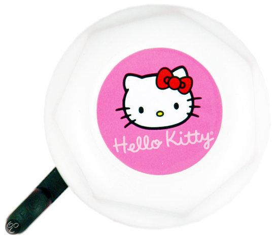 Hello Kitty - Fietsbel - 50 mm - Wit