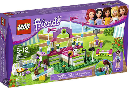 LEGO Friends Hondenshow - 3942