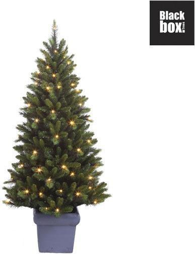bol com   Black Box Arrow   Kunstkerstboom in pot 125 cm hoog   Met energiezuinige LED lampjes