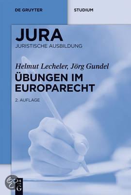 Ubungen Im Europarecht