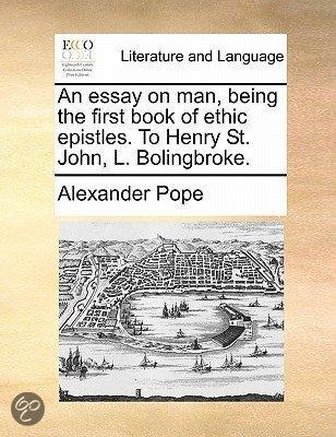 Pope essay on man epistle 1 pdf