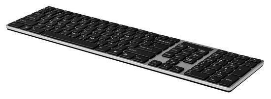 Avanca N-Line QWERTY toetsenbord voor Windows - Bedraad - Zilver/Zwart