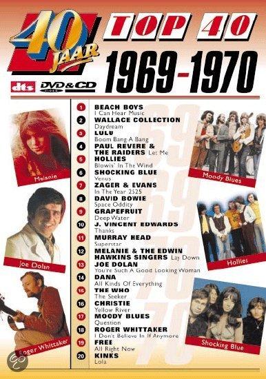 40 Top Summer 2013 Fashion Trends: 40 Jaar Top 40/1969-1970, Various Artists