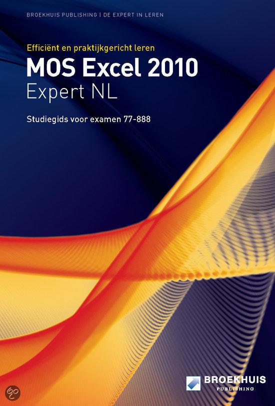 MOS excel 2010 expert NL studiegids [77-888]