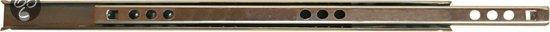 Qlinq Ladegeleider - Verzinkt - 28 cm x 17 mm - 2 Stuks