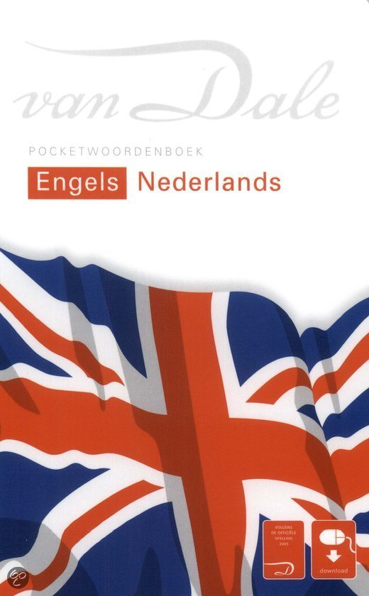 Van dale Pocketwoordenboek Engels - Nederlands