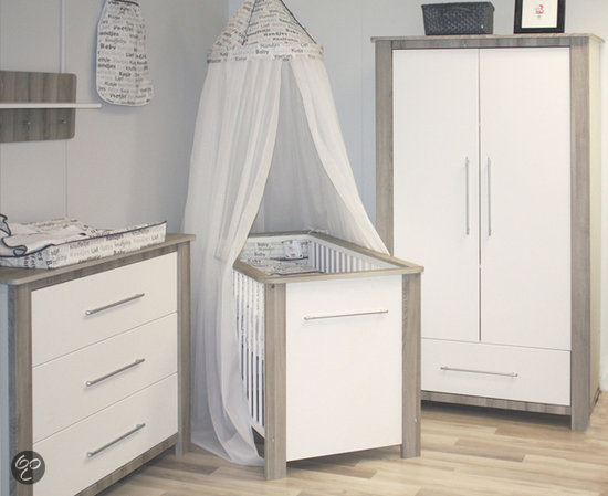 bol | bebies first tommy complete babykamer - wit, Deco ideeën