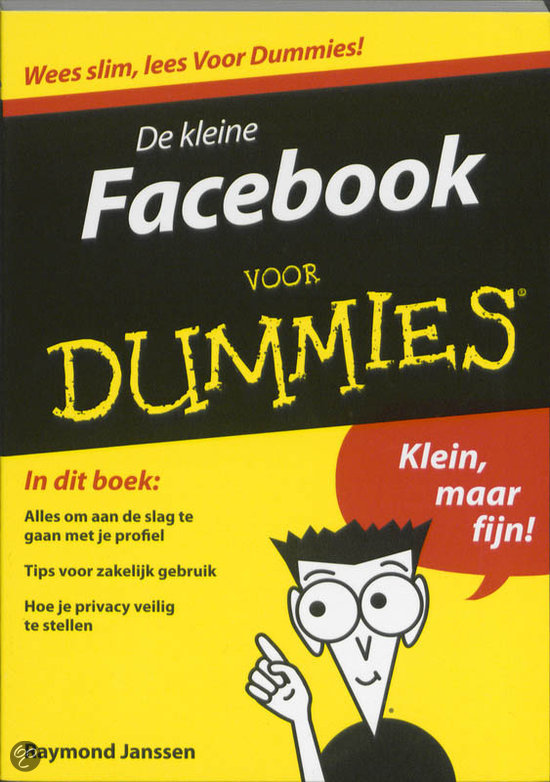 Pearson Education De kleine Facebook voor Dummies