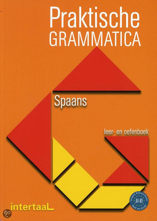 Praktische grammatica Spaans