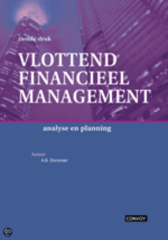 Vlottend financieel management / deel Theorieboek