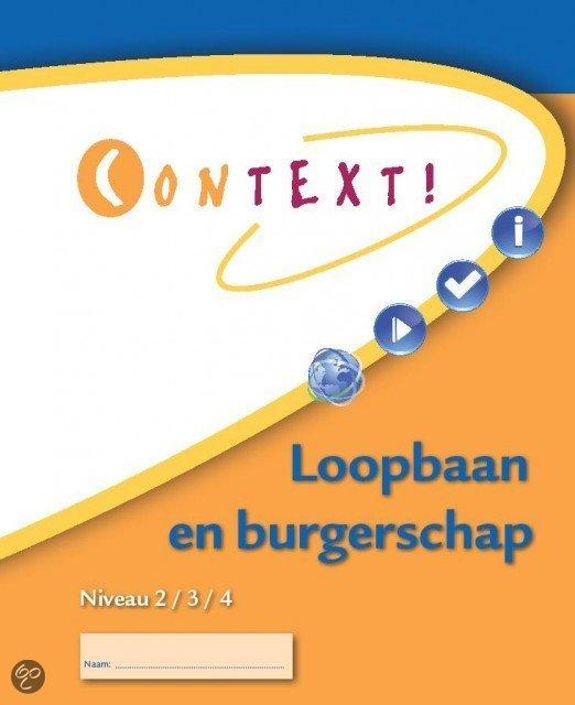 Context! / Loopbaan en burgerschap