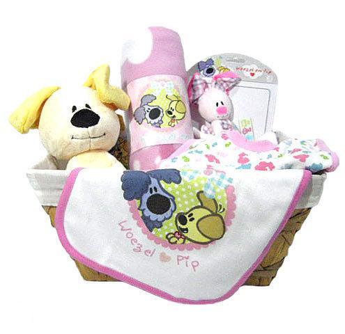 Kraamcadeau pip roze voor een meisje - Kantoor voor een klein meisje ...