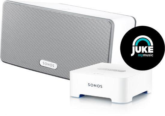 Sonos PLAY:3 + Bridge - Voordeelbundel - Wit
