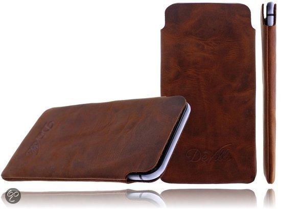 DeVills Apple iPhone 6 (4.7 inch) Pocket Sleeve Lederen insteekhoes ...