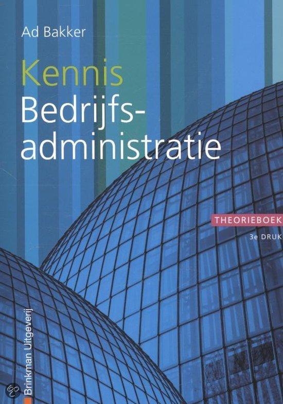 Kennis bedrijfsadministratie / deel Theorieboek