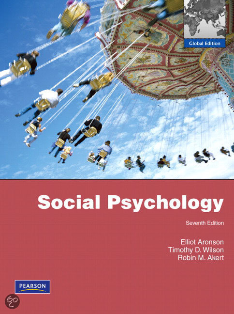 Social Psychology Aronson 9th Edition Pdf