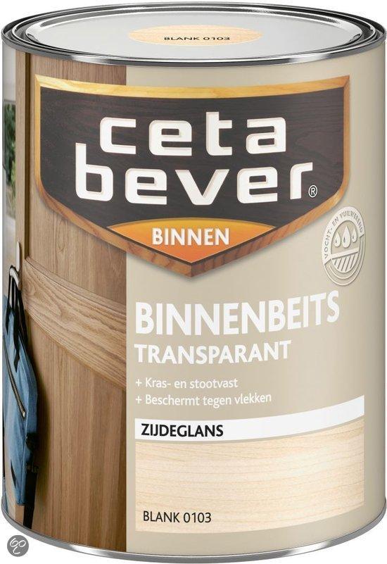 bol.com : Cetabever Binnenbeits Transparant Acryl - 0,25 liter - White ...