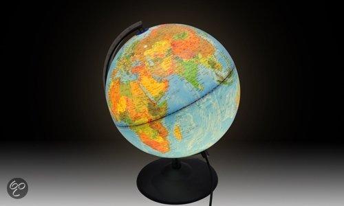 Wereldbol Met Licht : Bol vidaxl verlichte wereldbol vidaxl speelgoed