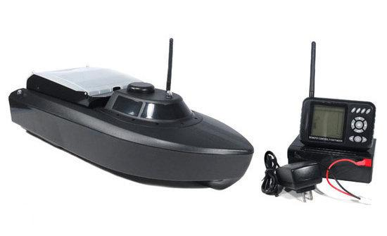 Jabo Voerboot met Fishfinder - 2.4 Ghz - LCD display - Zwart