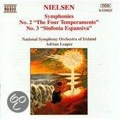Nielsen: Symphonies 2 & 3 / Leaper, National SO of Ireland