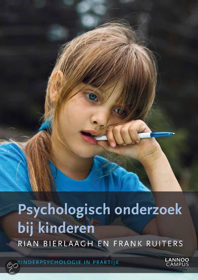 Kinderpsychologie in praktijk: Psychologisch onderzoek bij kinderen