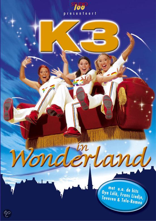 K3 in wonderland k3 kathleen aerts karen damen dvd - Foto van de show ...