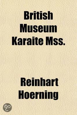 British Museum Karaite Mss.