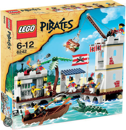 LEGO Pirates Soldatenfort - 6242