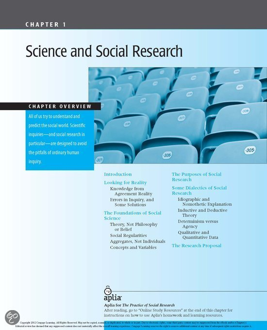 the practice of social research Buy practice of social research 13th edition (9781133049791) by earl r babbie for up to 90% off at textbookscom.