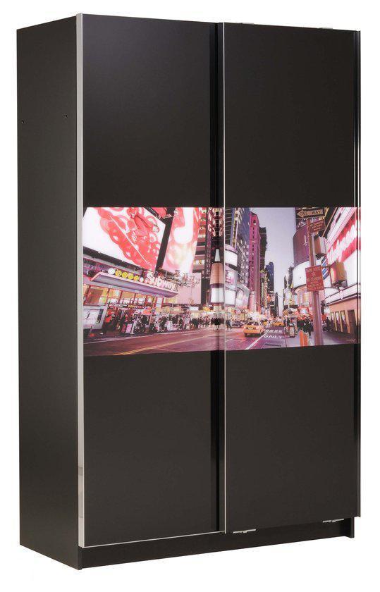 parisot kledingkast schuifdeurkast new york. Black Bedroom Furniture Sets. Home Design Ideas