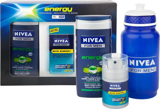 NIVEA MEN Energy - 3 delig - Geschenkset