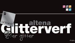 Altena briljant Glitterverf - 2,5 liter - Silver