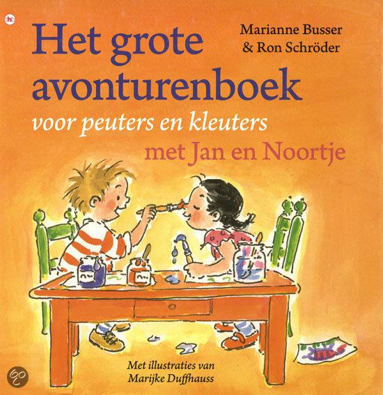 Het grote avonturenboek voor peuters en kleuters